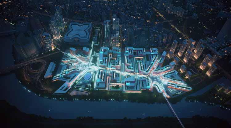 Серьезный вопрос: каковы пределы визуализации в процессе архитектурного проектирования? С любезного разрешения Zaha Hadid Architects