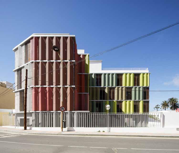 Штаб-квартира Красного Креста в Сеуте / endosdedos arquitectura, © Фернандо Альда
