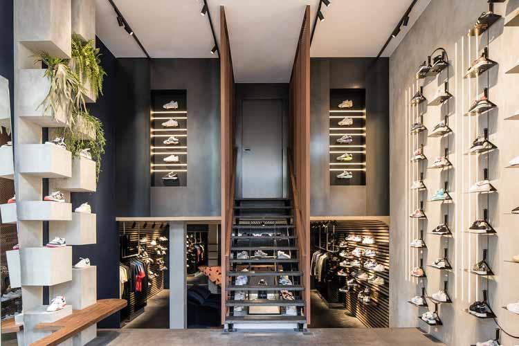 Sneaker District Амстердам / Barde + vanVoltt, © Nikki van Toorn