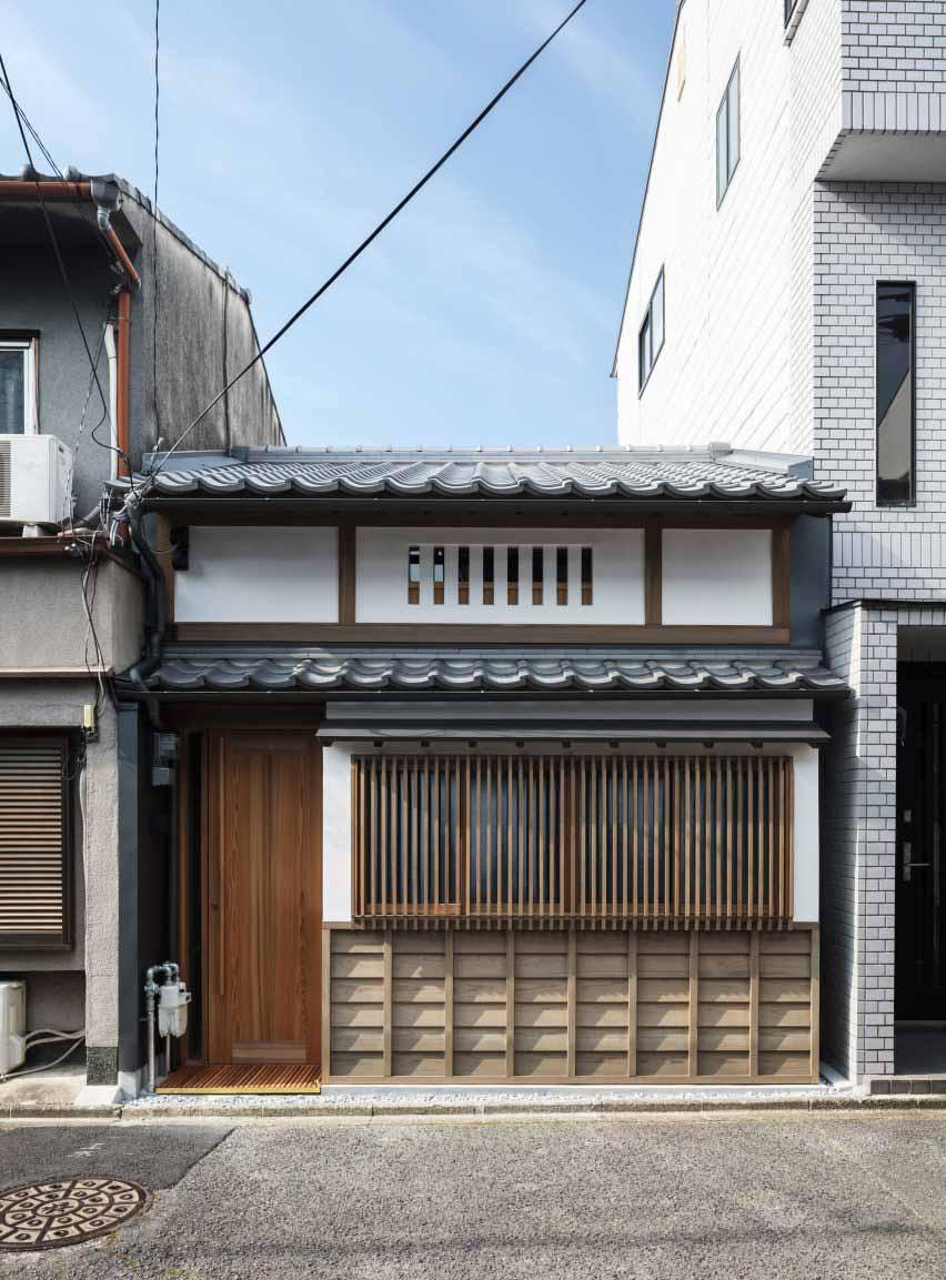 Старый рядный дом в Киото