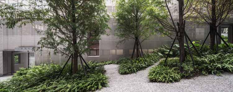 Восстановление психоневрологической больницы / Wooyo Architecture, © YHLAA