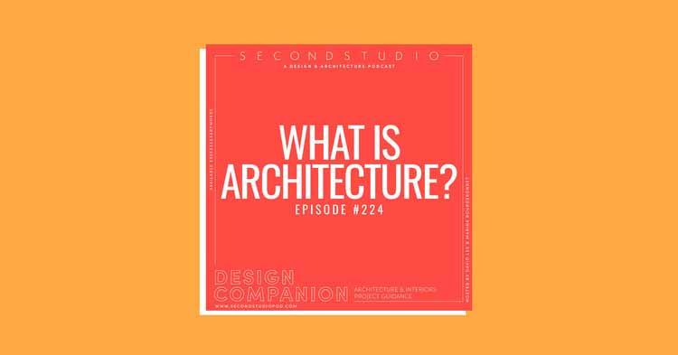 Второй подкаст студии о том, почему архитектура необходима (но также и не нужна), © The Second Studio Podcast
