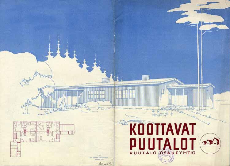 Брошюра Пуутало 1940 г. Изображение © Архив ELKA
