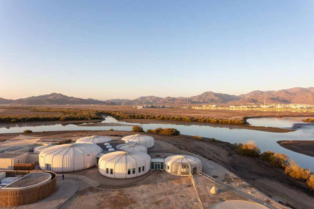 Hopkins Architects спроектировали заповедник для черепах Хор-Калба в Шардже