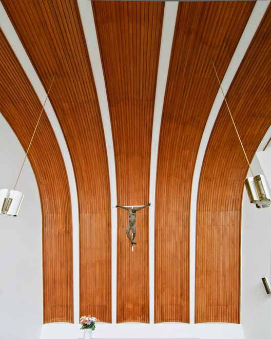 Heilig Geist Kirche / Алвар Аалто. Изображение © Сэмюэл Людвиг