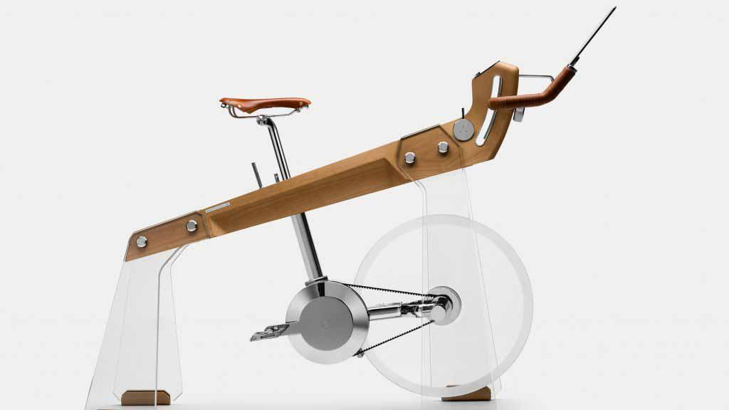 Fuoripista — это велотренажер, который выглядит как элитная мебель.