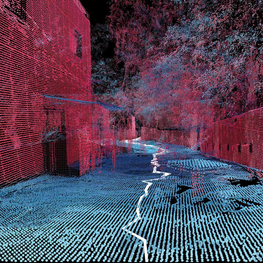 MIT Senseable City Lab нанесла на карту бразильских фавел с помощью портативных 3D-сканеров