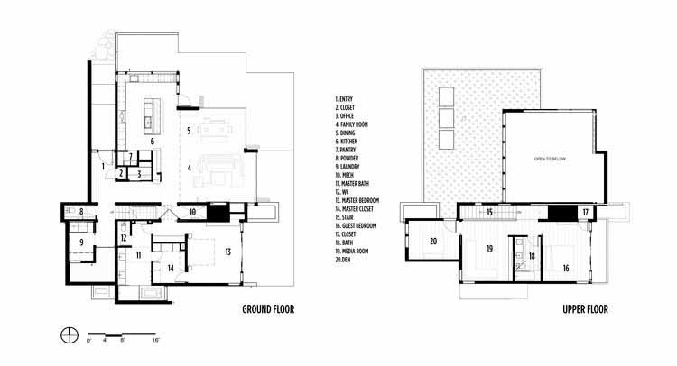 Планировка этажей