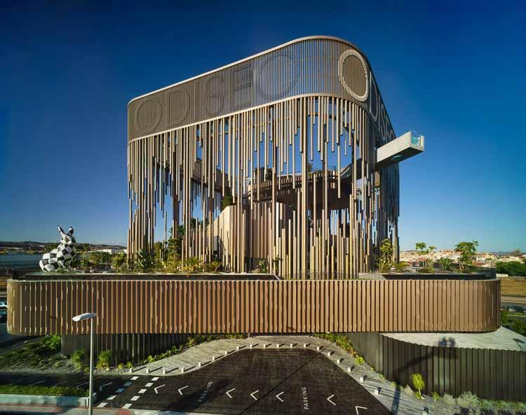 Гастрономический и развлекательный центр Odiseo / Clavel Arquitectos, © David Frutos