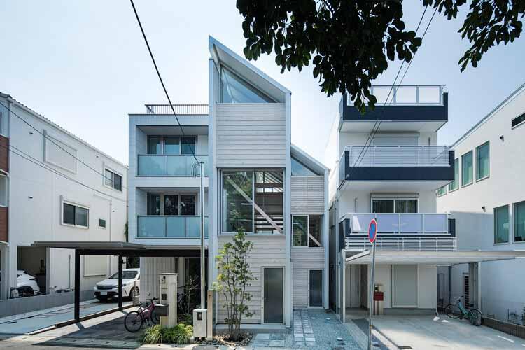 Дом для жизни в парке / Shuhei Goto Architects, © Kenta Hasegawa