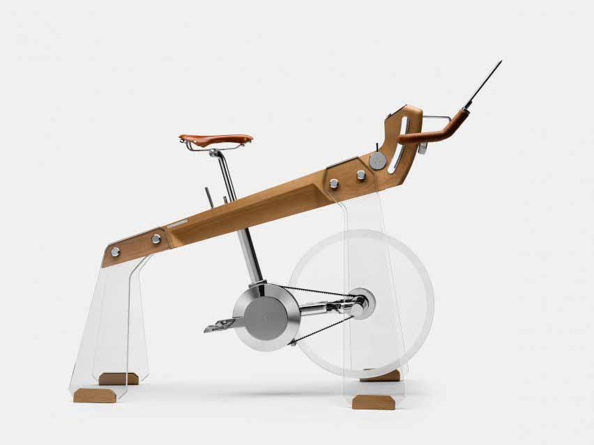 Вид сбоку на велосипед Fuoripista от Elite и Adriano Design