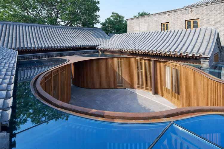 Внутренний двор Луаньцин Хутонг / URBANUS, © Chaoying Yang