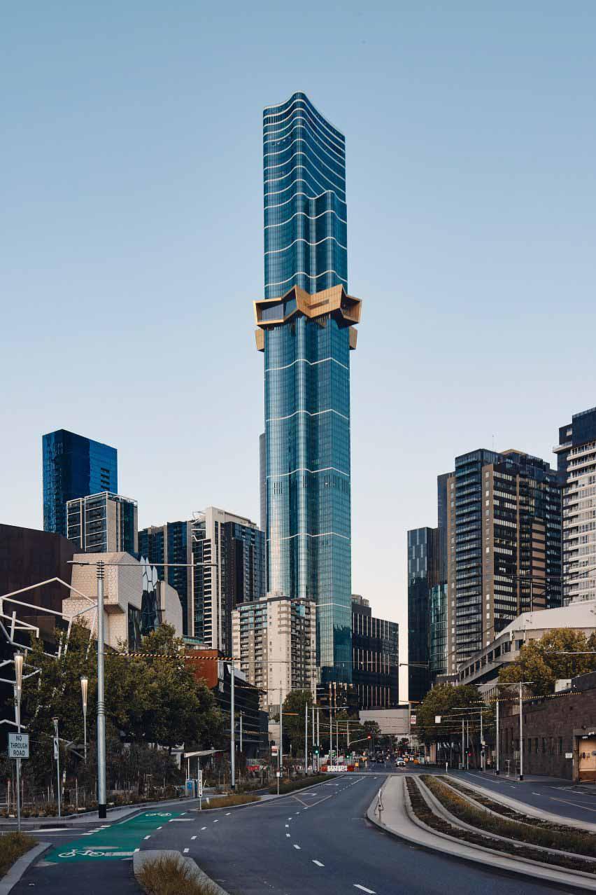 Австралия 108 в Мельбурне