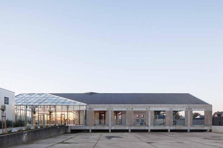 Ремонт склада HACHIKO / WE-S architecten, © Johnny Umans