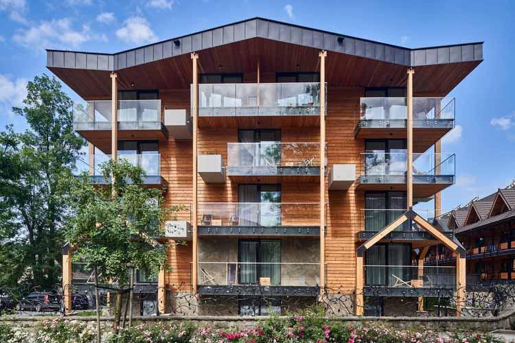Резиденция Bachleda Club / Karpiel Steindel Architektura, © Paweł Ulatowski