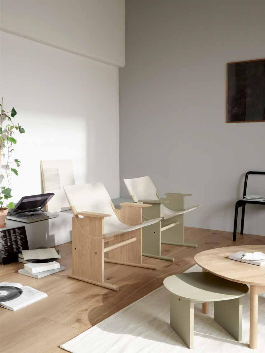 Комнатный стул из дуба
