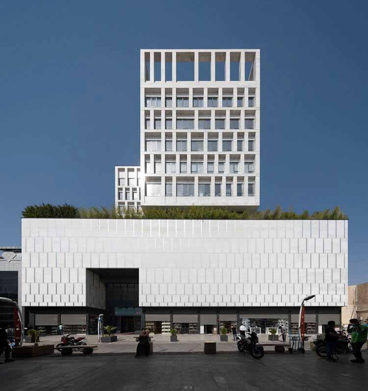 Торгово-офисный комплекс Pransa / DOT ARCHITECTS, © Mohammad Hassan Etefagh, Deed Studio