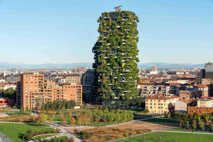 Вертикальный урбанизм: возвышения Милана достигают новых высот, любезно предоставлено Boeri Studio