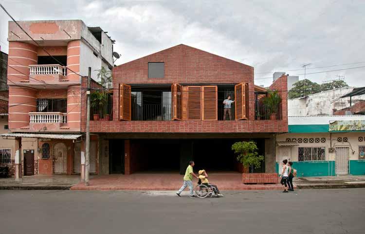 Жилой и образовательный центр La Casa que Habita / Natura Futura Arquitectura, Cortesía de Natura Futura Arquitectura