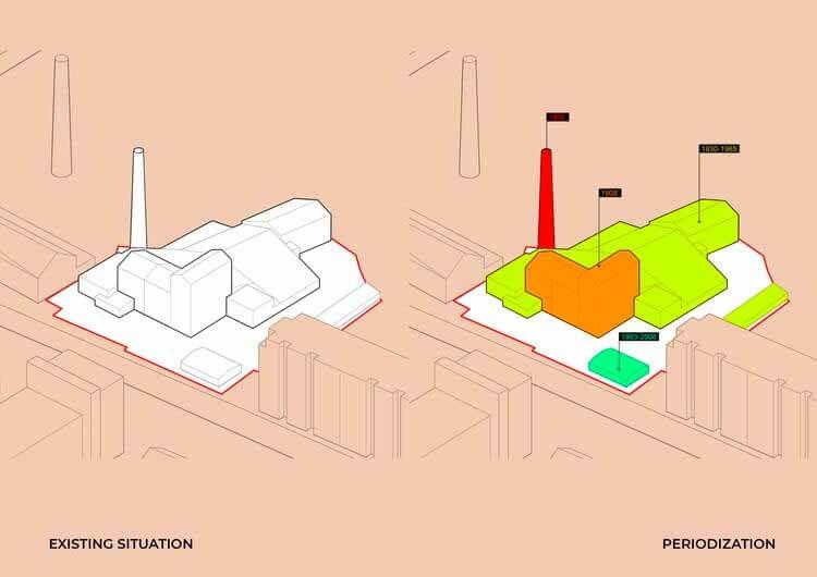 Концептуальная аксонометрия. Изображение предоставлено Дмитрием Яходином