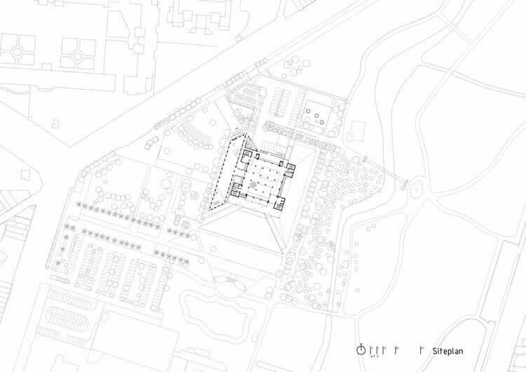 план участка 1: 500