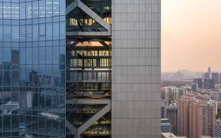 Центр Хэнкинга Морфозиса - самая высокая в мире отдельно стоящая башня, © Zhang Chao