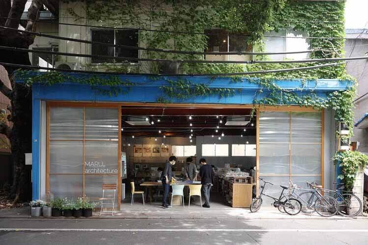 MARU。architecture Офис Уэносакураги / MARU。architecture, © Кай Накамура