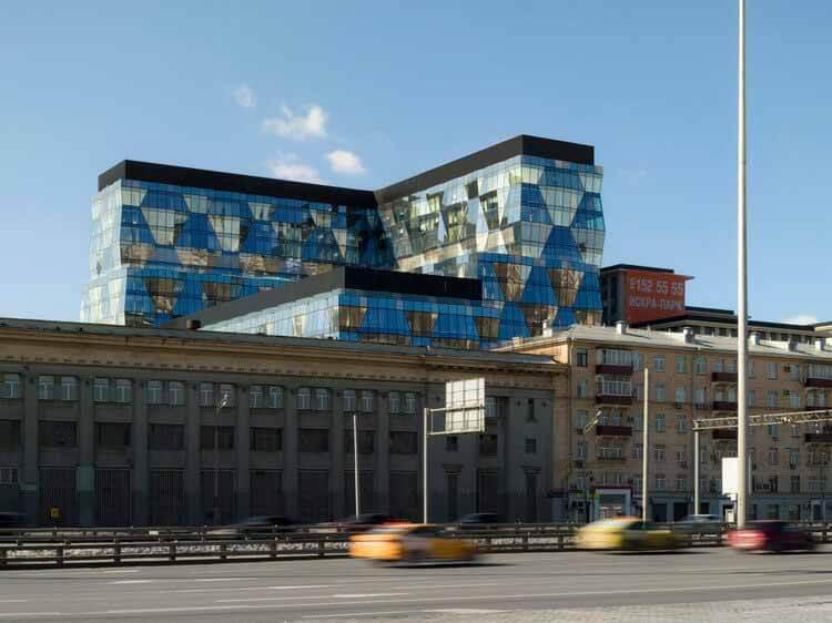 Офисное здание «Искра Парк» / РЕЧЬ, © Дмитрий Чебаненко