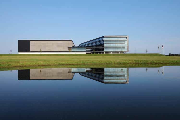 Штаб-квартира Mascot International / C.F. Møller Architects, © Мартин Шуберт