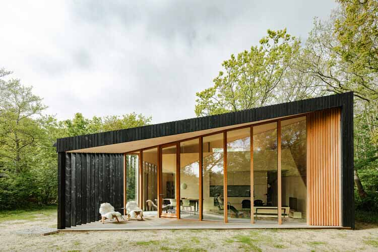 Дом для отпуска / Orange Architects, © Себастьян ван Дамм