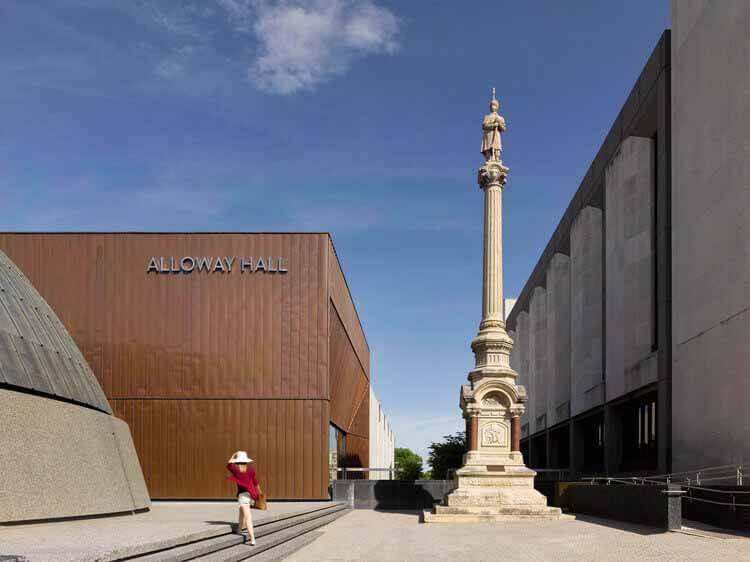 Расширение и обновление зала Alloway Hall / Stantec Architecture, © Джеймс Бриттен
