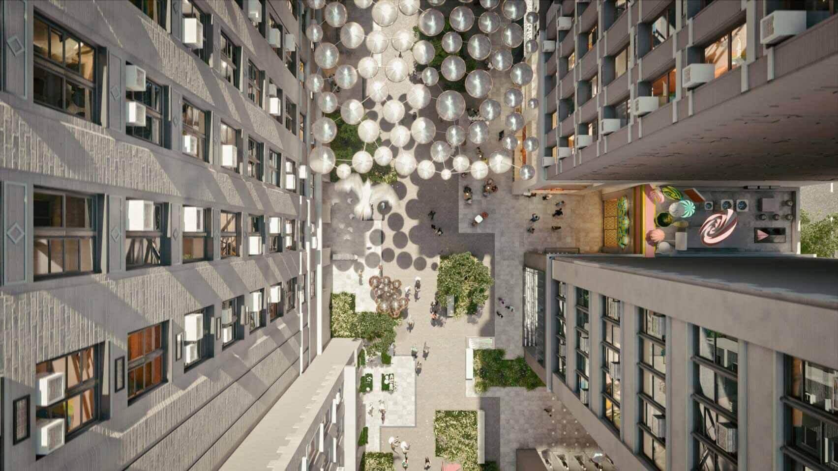 Схема изменения зонирования Нью-Йорка от ODA, чтобы заставить девелоперов строить общественные пространства