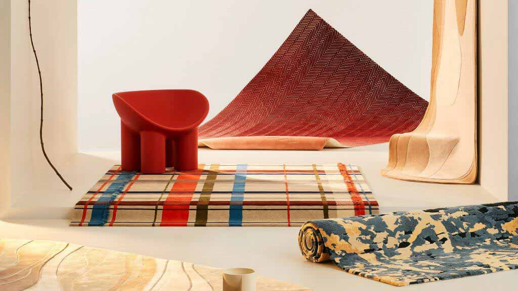 Коврики Forma от Tsar Carpets среди новинок Dezeen Showroom