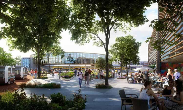 UNStudio публикует отчет о создании мест и построении сообществ в постпандемическом мире, Генеральный план Brainport Smart District.  Изображение предоставлено UNSense