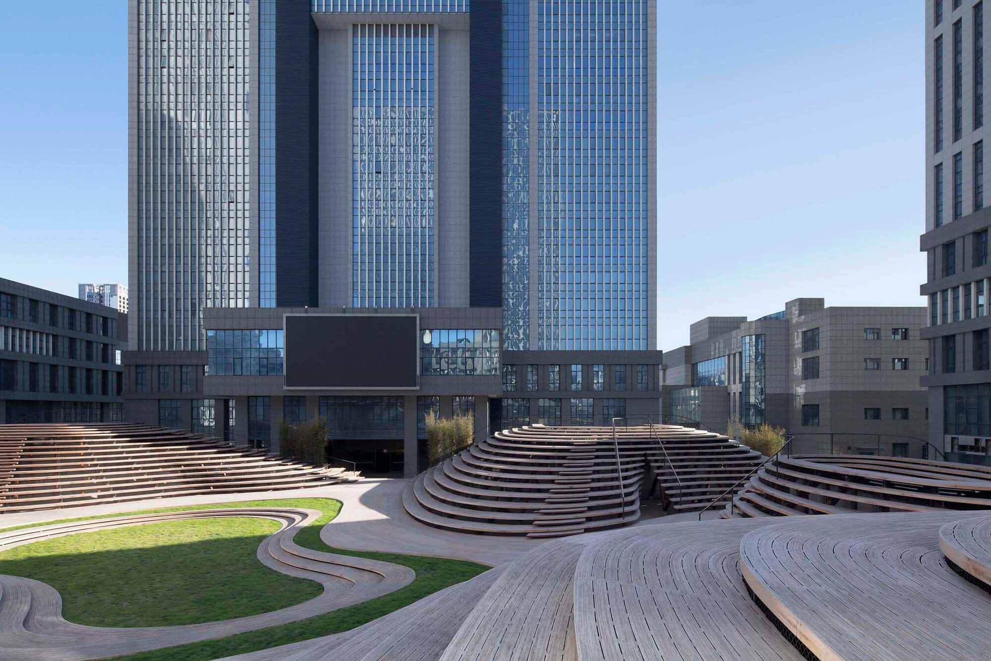 Бамбуковый холм — Тяньцзинь Vision Hill Plaza / Origin Architect