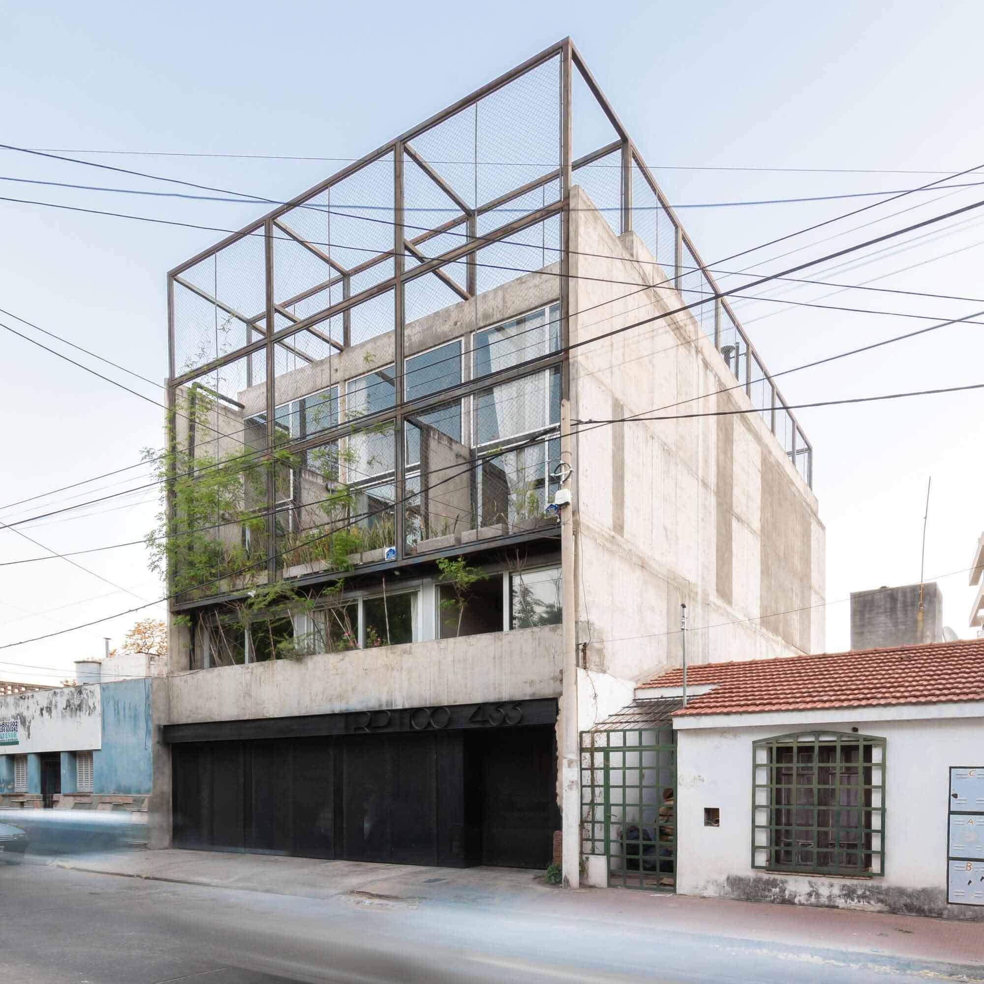 Здание Триптико / Мариела Маркизио + Кристиан Нанзер + Херман Маргерит
