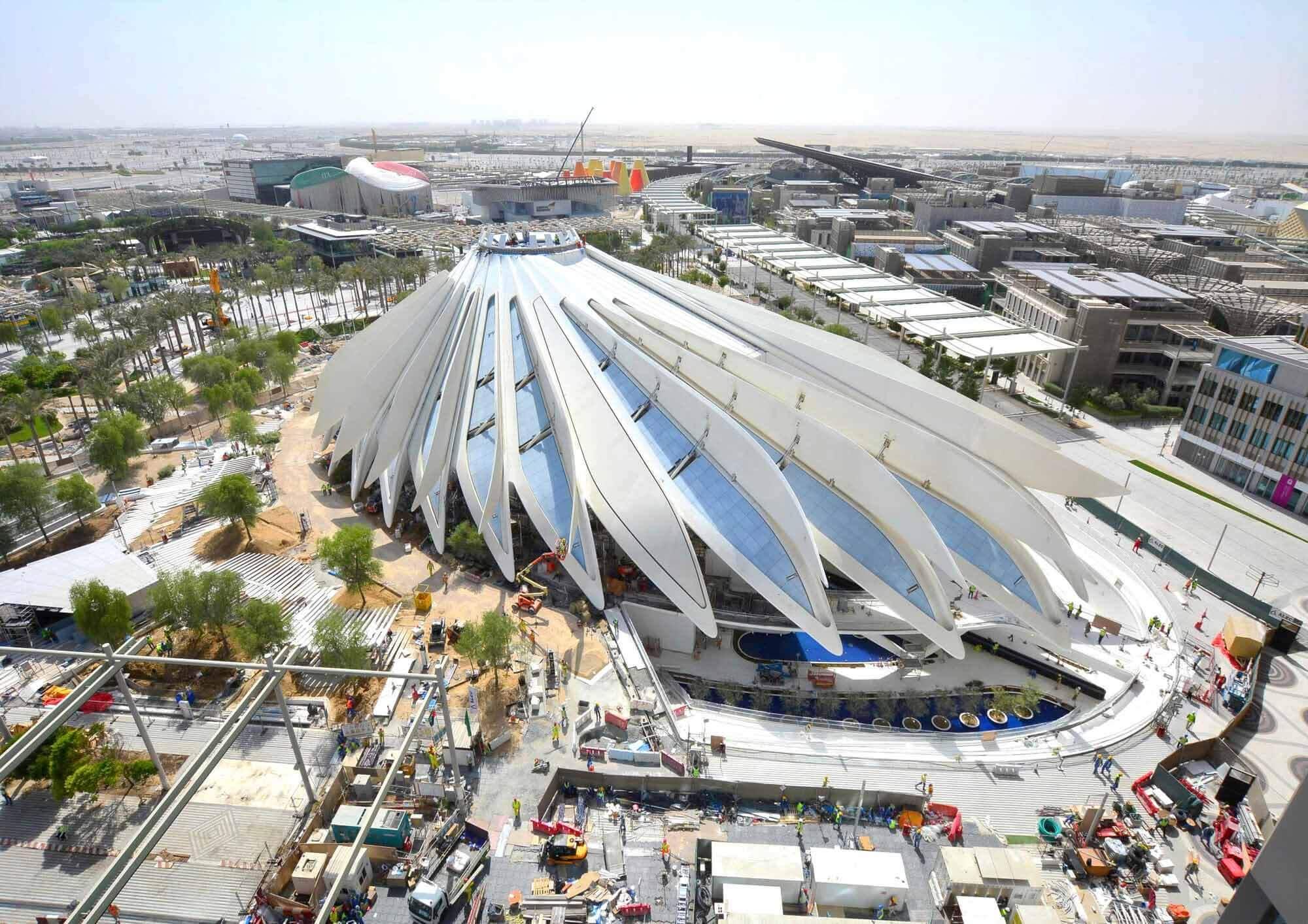 Сантьяго Калатрава раскрывает дизайн павильона ОАЭ для Expo 2020 Dubai