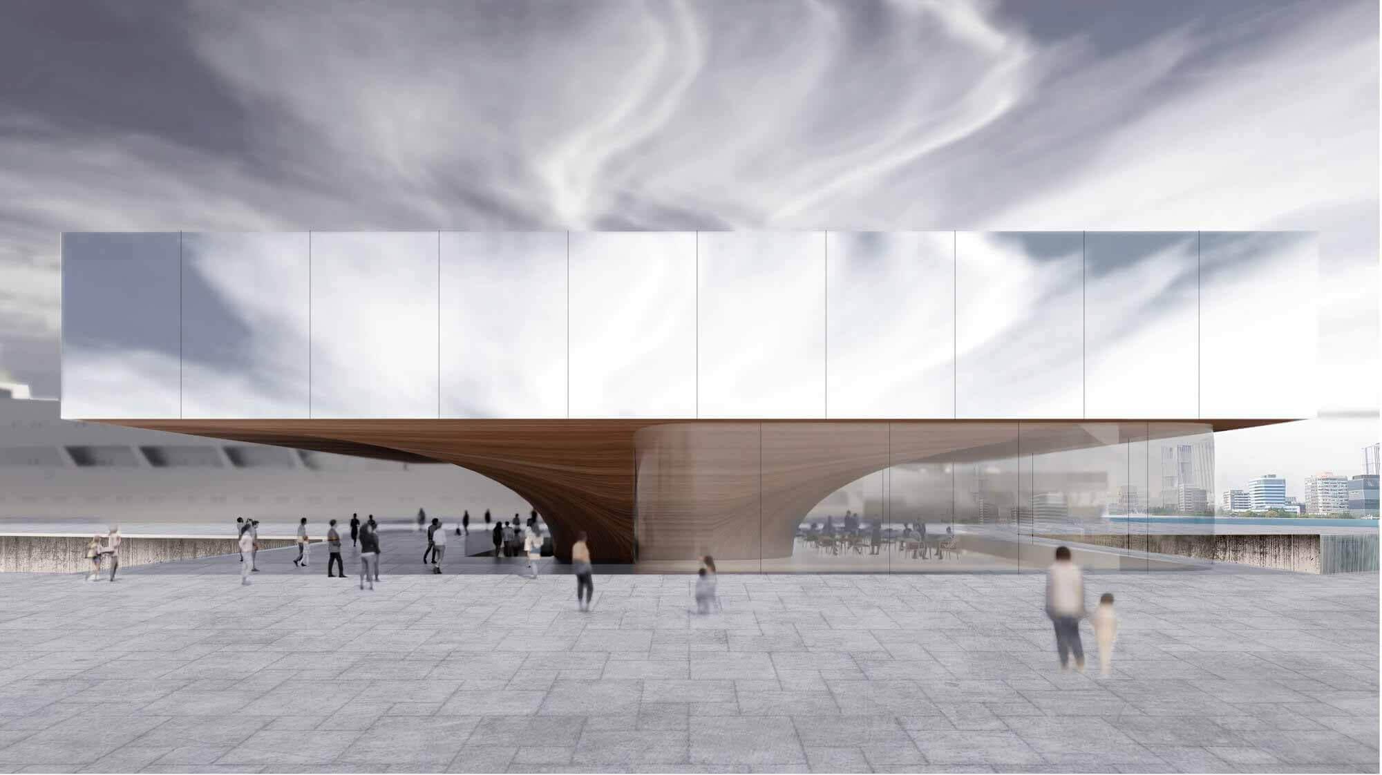 Художественный маяк в Финляндии и музей у пирса: 9 недостроенных музейных проектов, представленных в Archdaily