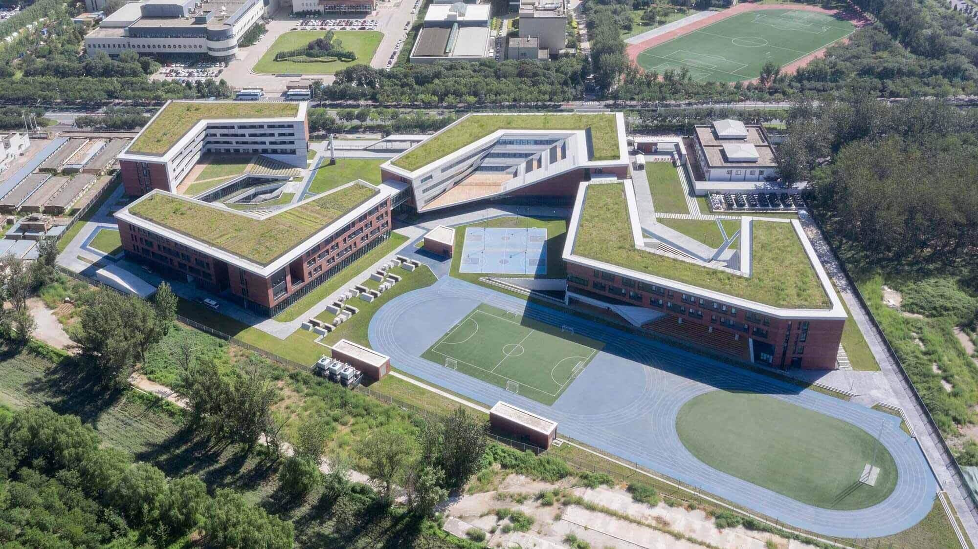 Школа аэрокосмического города RDFZ / BIAD