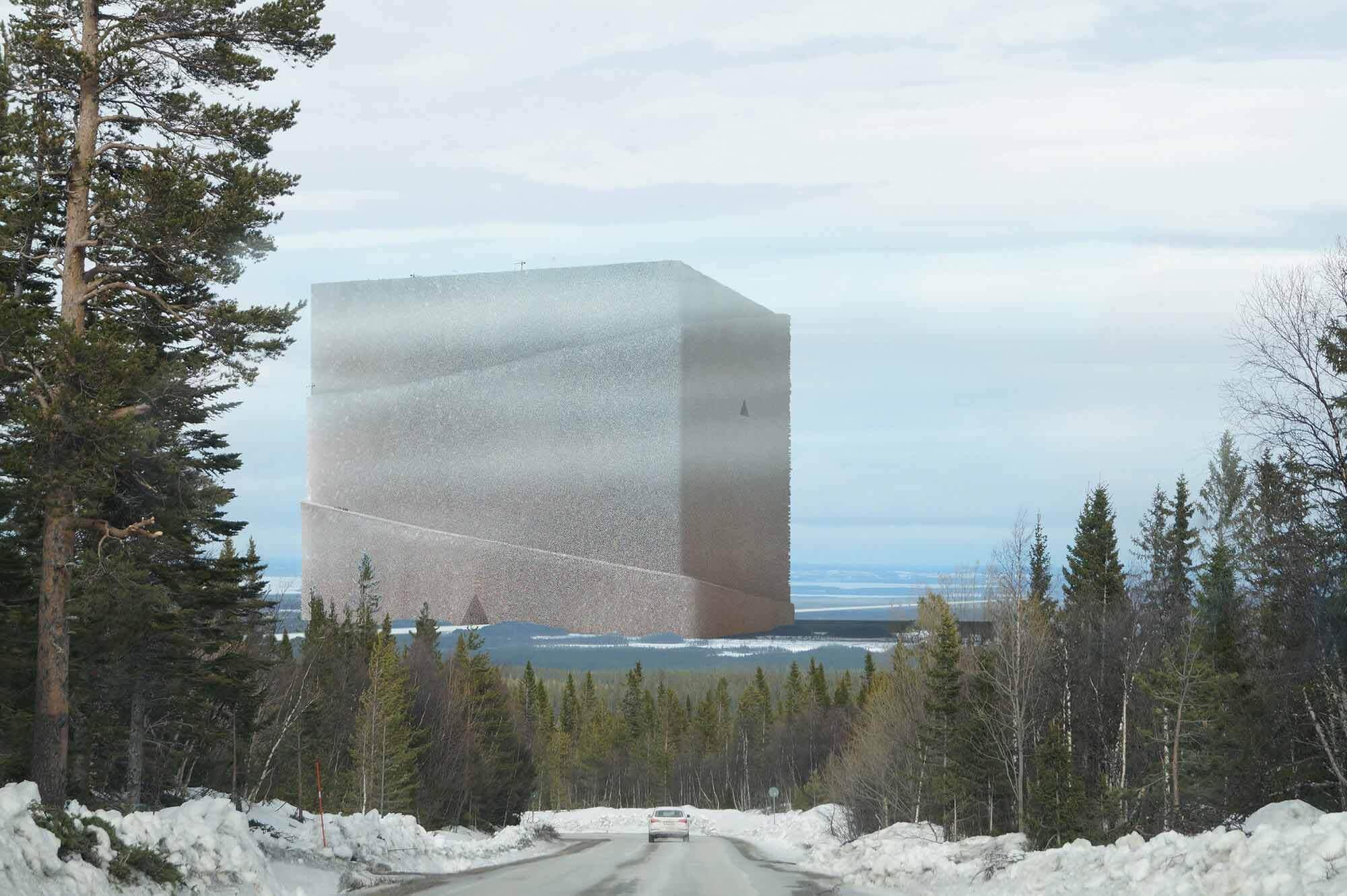 Андерс Беренссон, архитектор Андерс Беренссон, представил самую большую деревянную конструкцию в мире