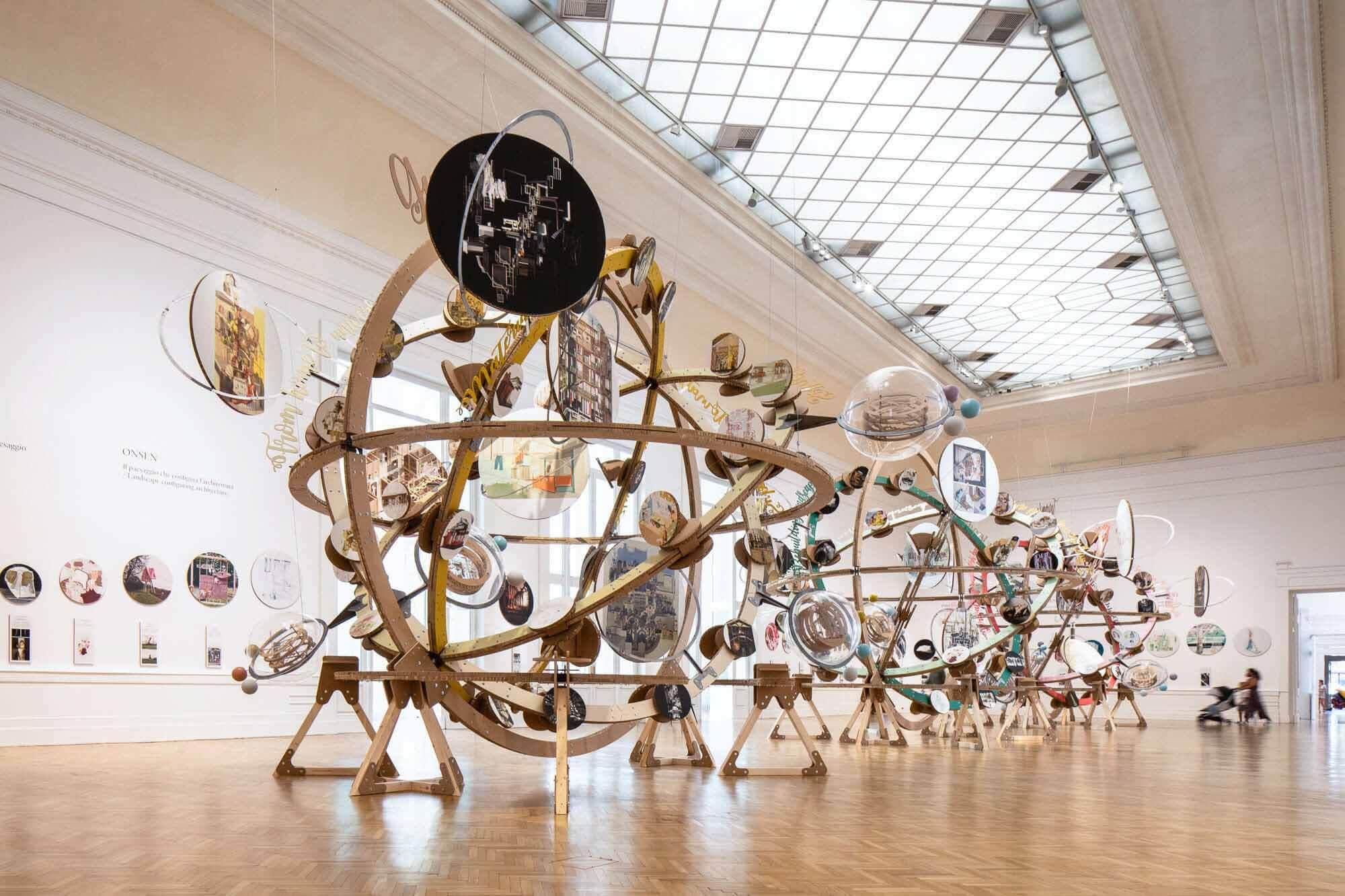 65 проектов под руководством женщин-архитекторов в La Galleria Nazionale di Roma