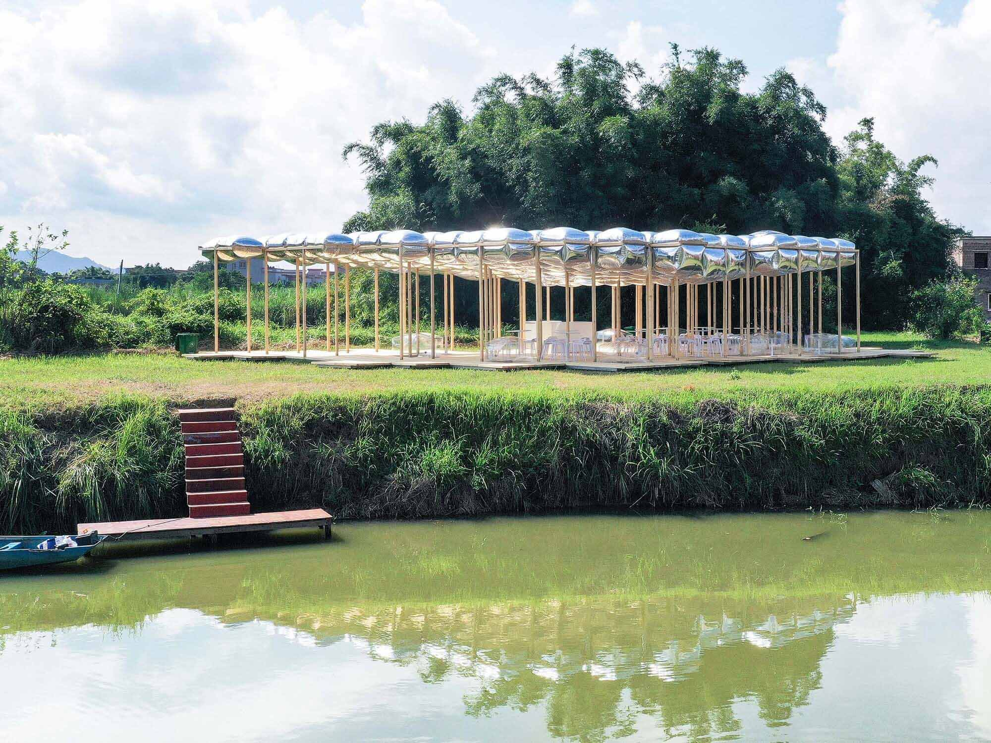 Чайный альков Гулао / Aether Architects