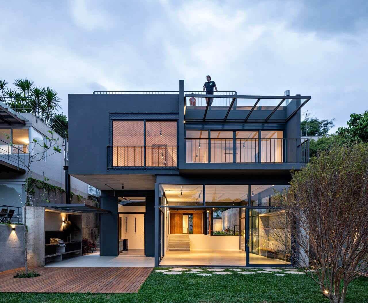 Casa Anunze / ARKITITO Arquitetura