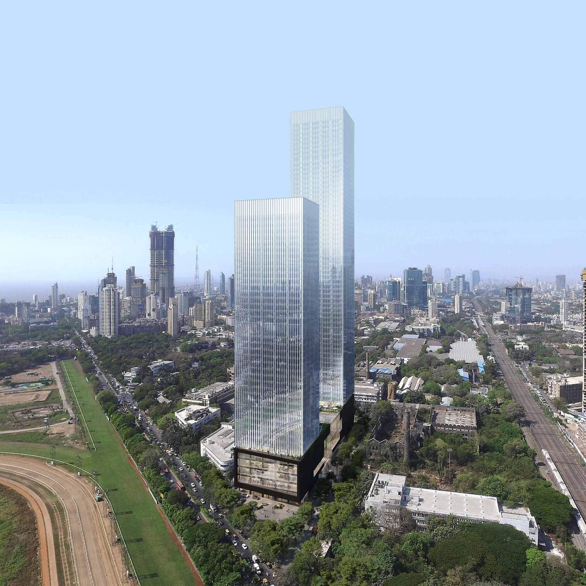 Началось строительство Prestige Liberty Towers OMA / Iyad Alsaka, многофункционального комплекса в Мумбаи, Индия