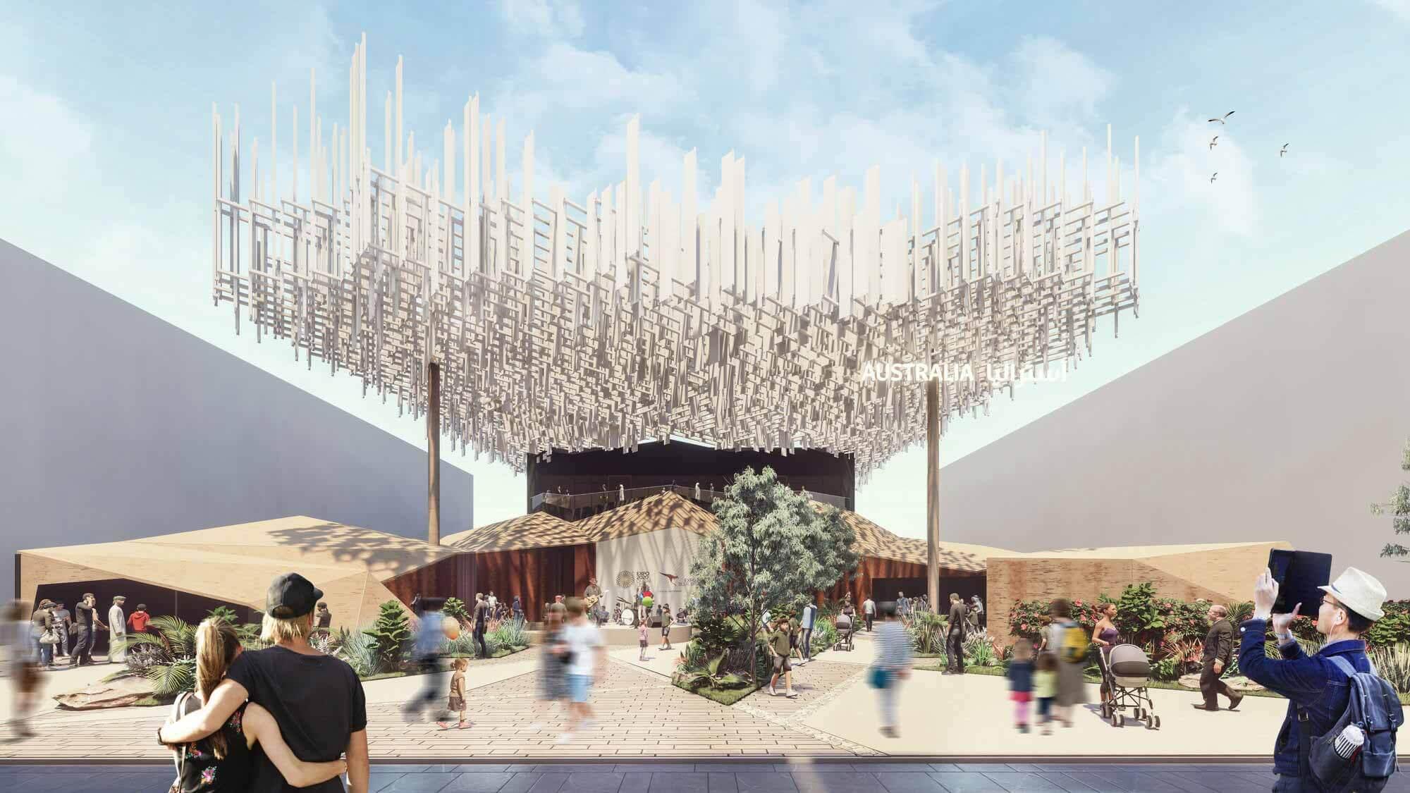 Австралийский павильон на выставке Expo 2020 Dubai отражает самобытную культуру и ландшафт страны
