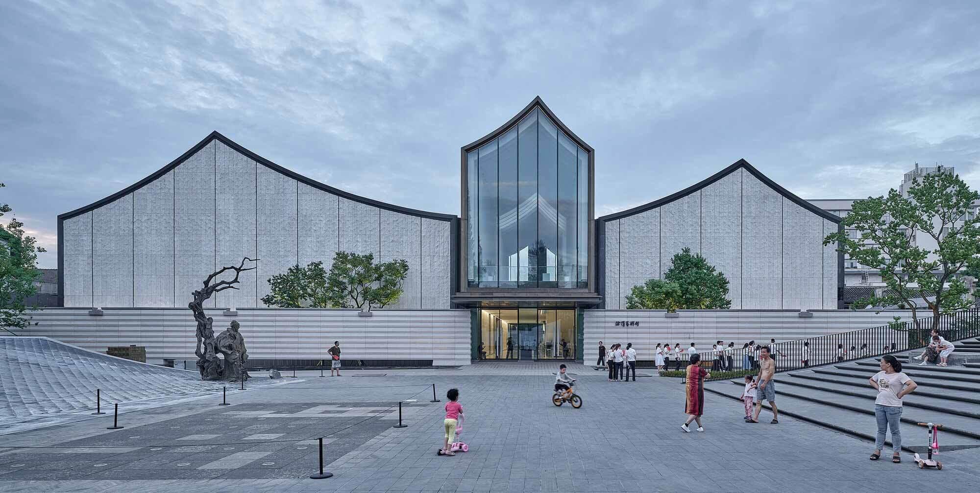 Художественный музей Сюй Вэй и площадь Цинтэн / UAD — ACRC