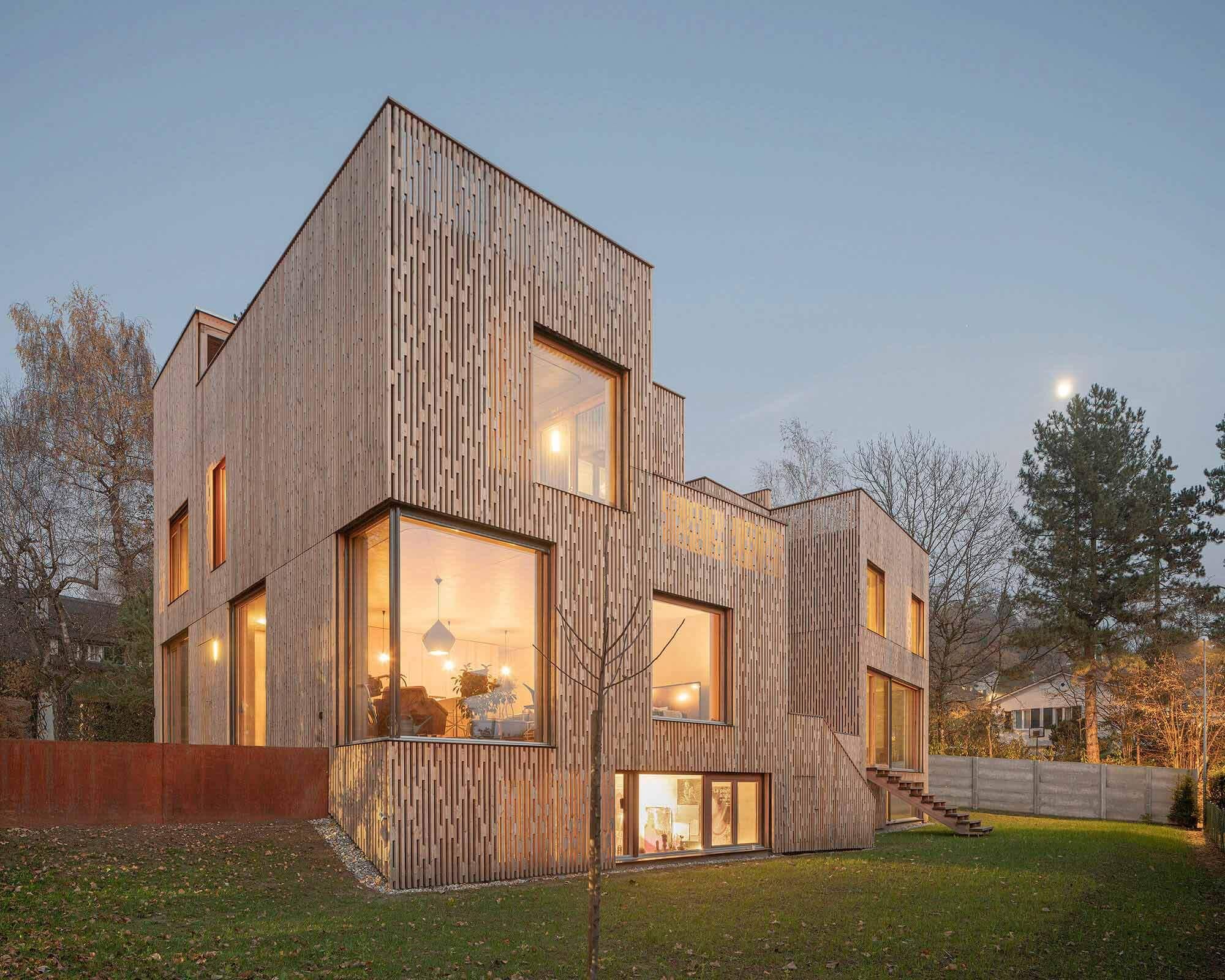 3 смежных дома / PONT12 architectes
