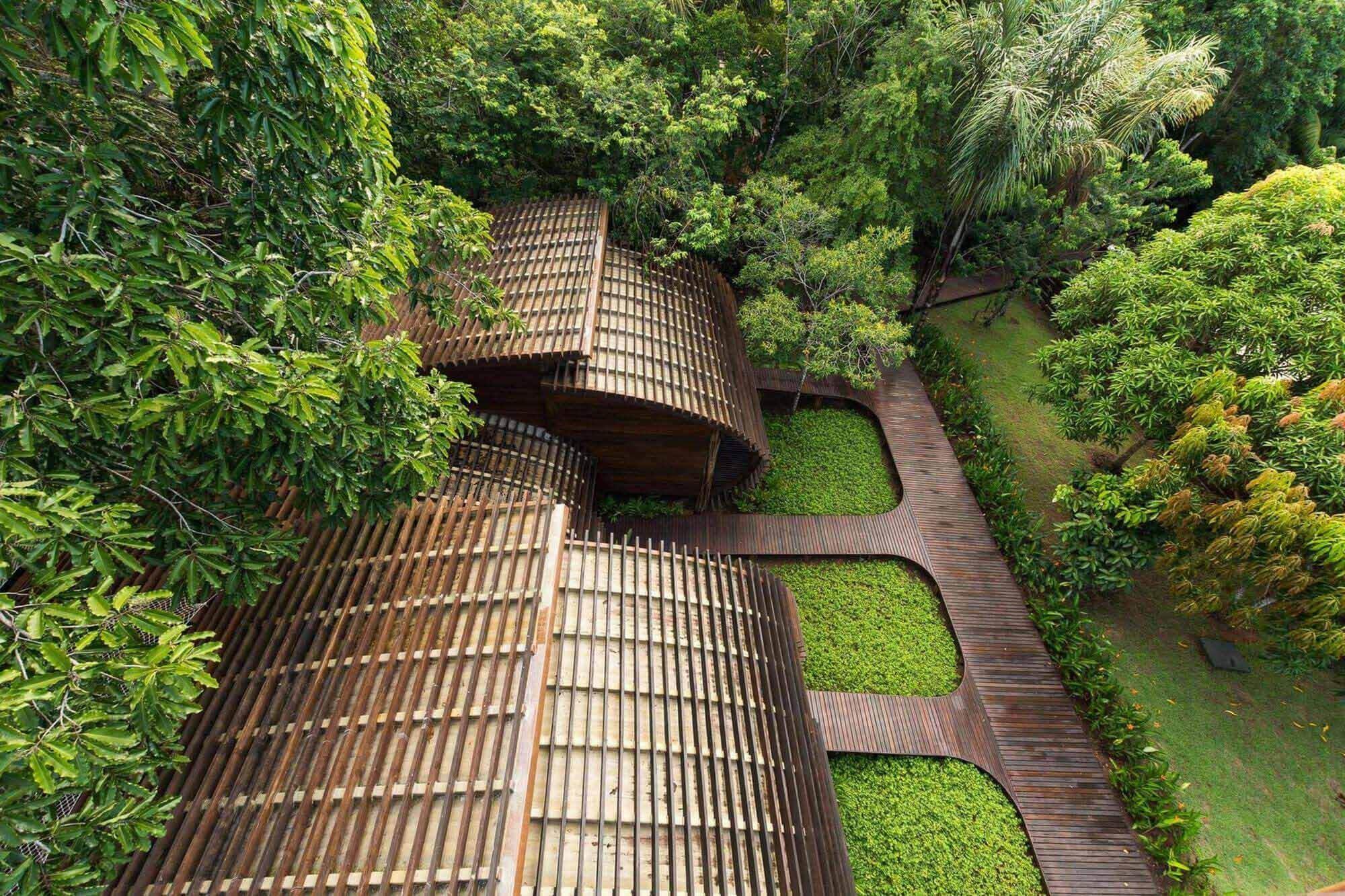 Традиционные методы, применяемые в современной архитектуре Амазонки