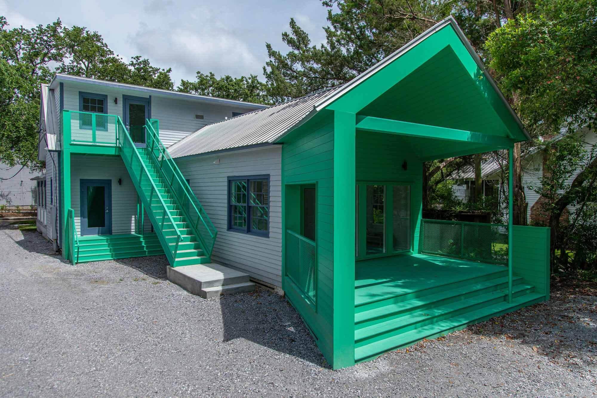Художественный музей Уолтера Андерсона — Дом искусств Кортни Блоссман / Высокие архитекторы
