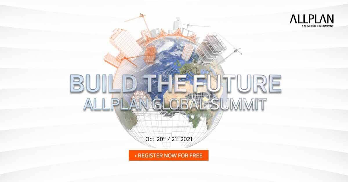 ALLPLAN приглашает профессионалов AEC на свой Virtual Global Summit 2021